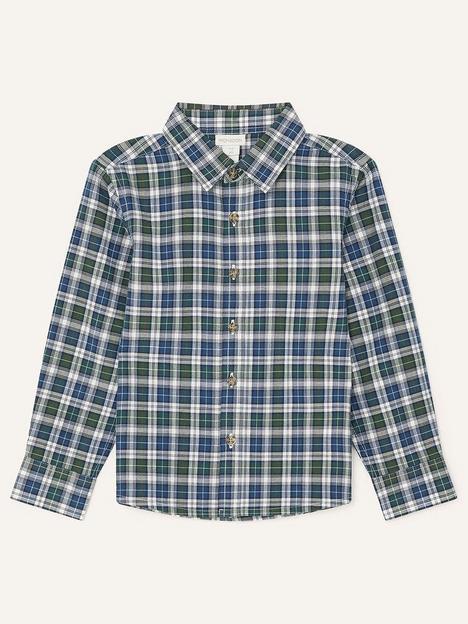 monsoon-boys-check-shirt-green