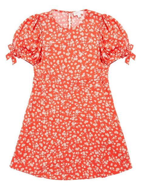 somebodys-child-girls-felicia-mini-ditsy-print-dress-red