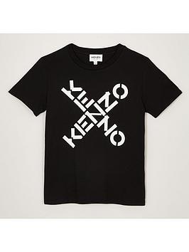 kenzo-juniornbspbig-x-logo-t-shirt-black