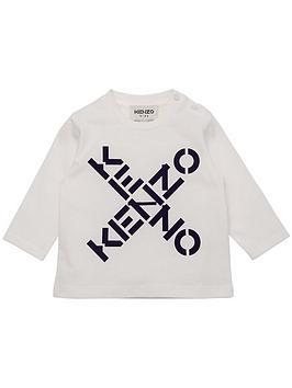kenzo-toddlernbsplogo-print-long-sleeve-top-white