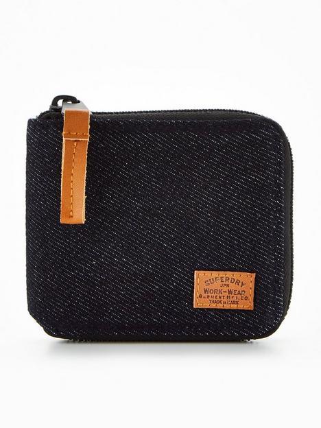 superdry-fabric-zip-wallet-blue