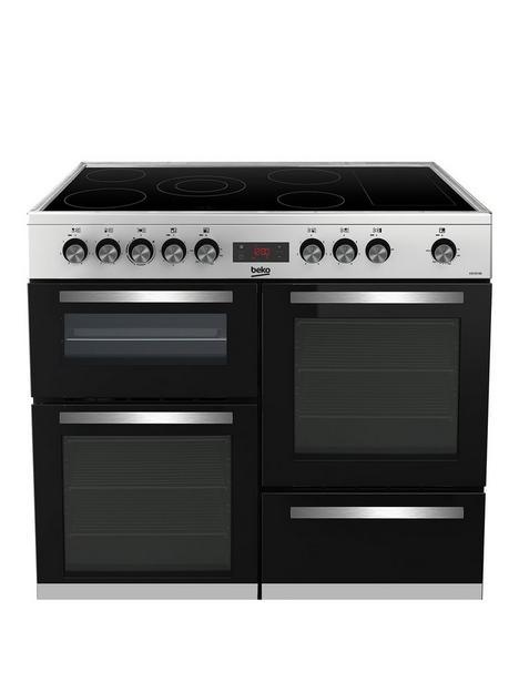 beko-beko-freestanding-100cm-double-oven-range-cooker-stainless-dteel-kdvc100x