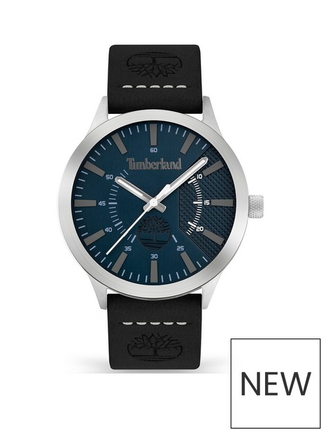 timberland-timberland-hempstead-mens-watch-with-black-leather-strap-and-blue-dial