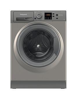 Hotpoint NSWM944CGGUKN 9kg 1400rpm Freestanding Washing Machine - Graphite