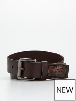 superdry-badgeman-belt-brownnbsp