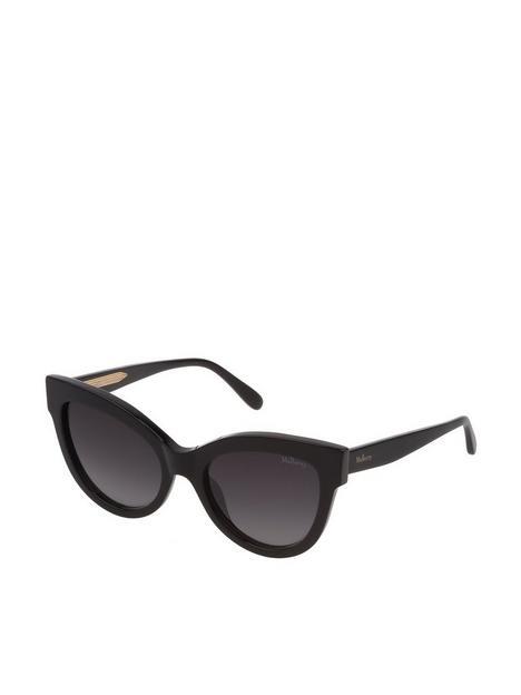 mulberry-cat-eye-sunglasses-black