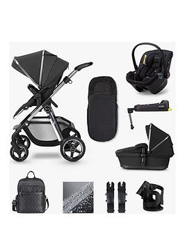 Silver Cross Pioneer Travel System Dream Isize & Base Bundle - Pepper