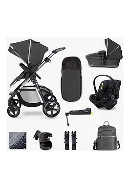 Silver Cross Pioneer Travel System Dream Isize & Base Bundle - Clay