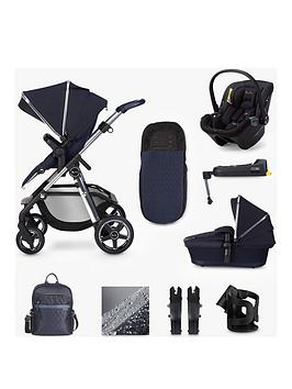 Silver Cross Pioneer Travel System Dream Isize & Base Bundle - Sapphire