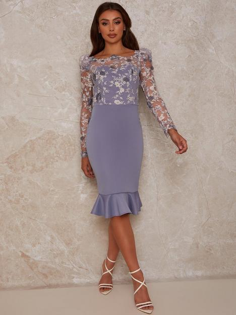 chi-chi-london-peplum-embroidered-lace-bodycon-dress-blue