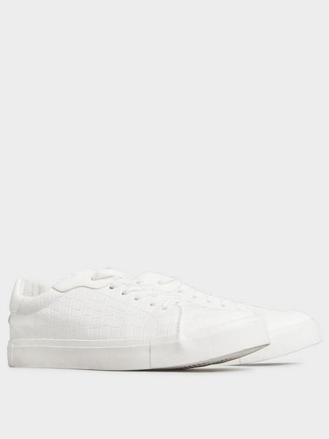long-tall-sally-long-tall-sally-croc-lace-up-trainer-white