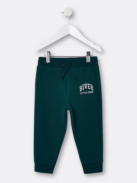 river-island-mini-boys-little-dude-jog-pant-green
