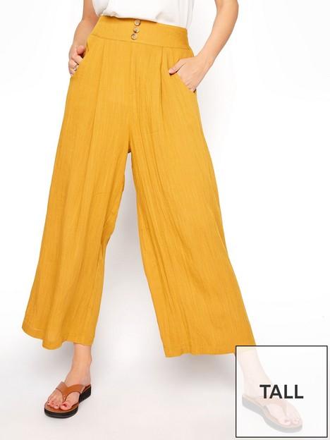long-tall-sally-linen-mix-culottes-ochre