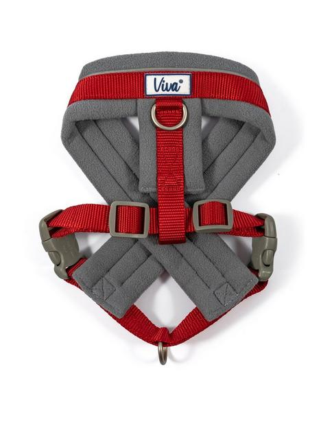 ancol-padded-harness-red-41-53cm
