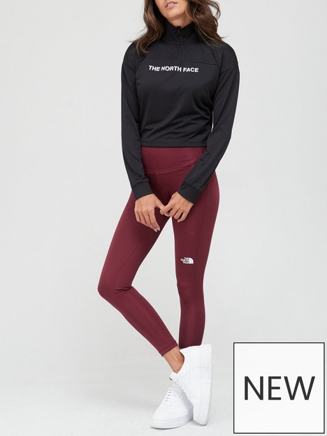 the-north-face-flex-high-rise-tights-red