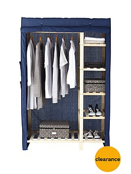 canvas-double-wardrobe