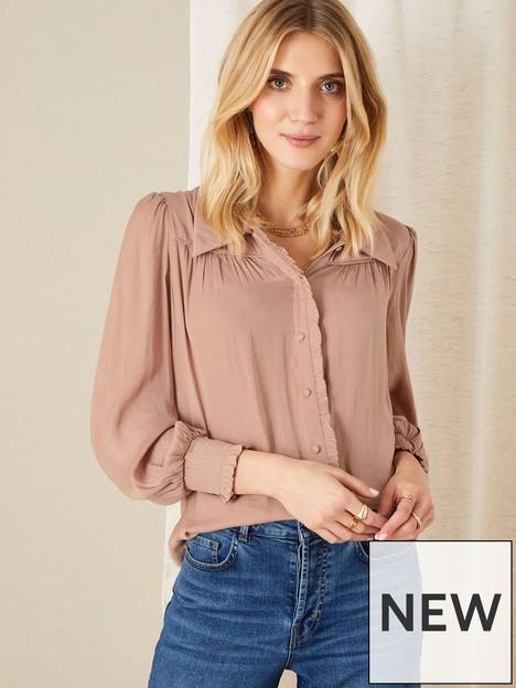 monsoon-poppy-plain-blouse