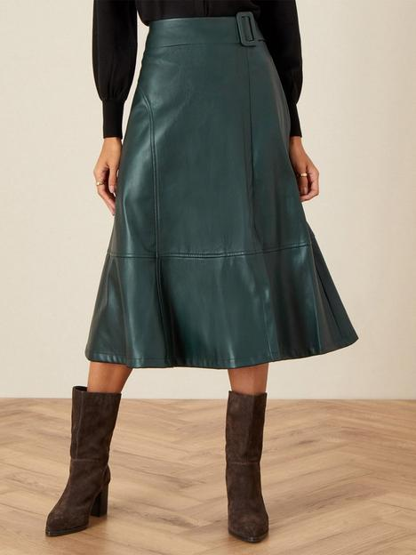 monsoon-recycled-pu-belt-skirt