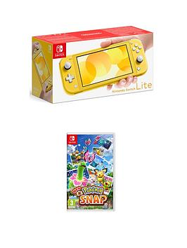 Nintendo Switch Lite Console With New Pokemon Snap