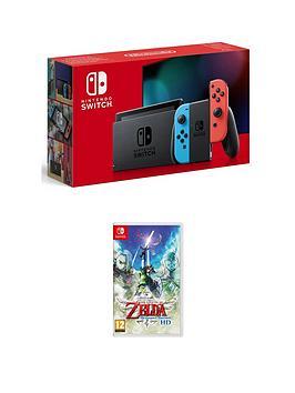 Nintendo Switch Nintendo Switch Console With The Legend Of Zelda: Skyward Sword