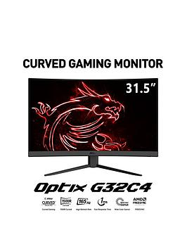 msi-optix-g32c4-32-inch-full-hd-va-165hz-curved-1ms-amd-freesync-premium-gaming-monitor