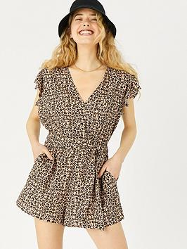 accessorize-leopard-print-playsuit