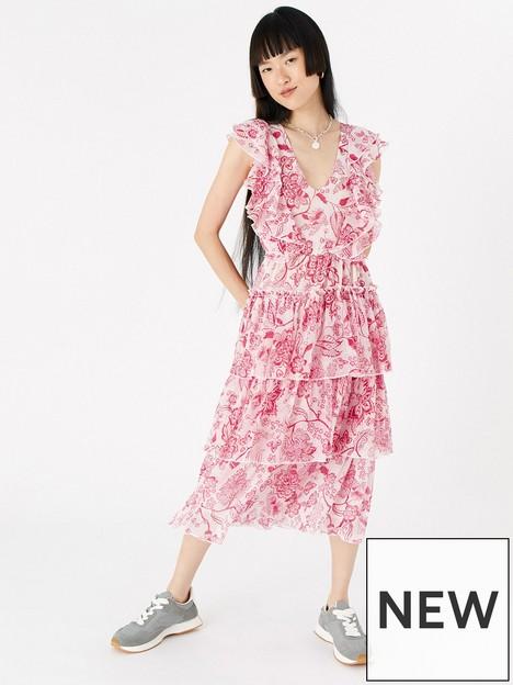 accessorize-red-floral-midi-ruffle-dress