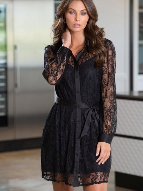 pour-moi-pour-moi-clara-long-sleeve-lace-shirt-dress