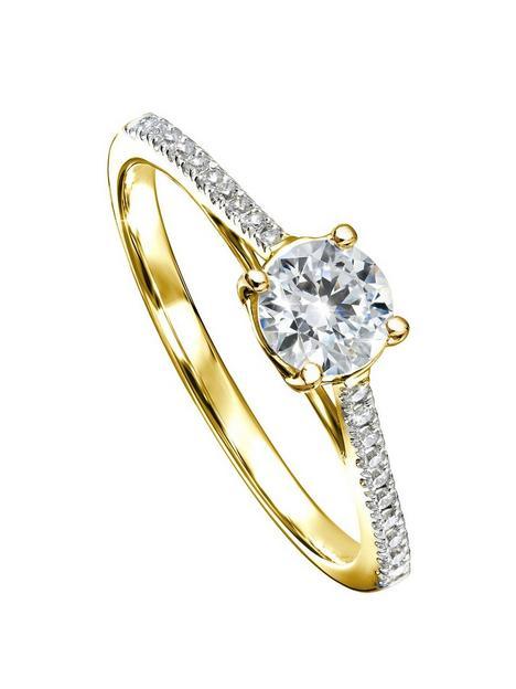created-brilliance-margotnbsp9ct-yellow-gold-050ct-lab-grown-diamond-engagement-ring