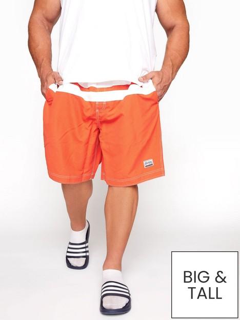 badrhino-cut-and-sew-panel-swim-shorts--nbsporangenbsp