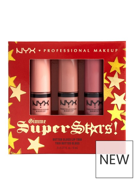 nyx-professional-makeup-nyx-professional-makeup-gimme-super-stars-butter-gloss-lip-trio-light-nude-gift-set