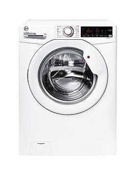 Hoover H-Wash 300 H3W 68Tme 8Kg Washing Machine With 1400 Rpm Spin, With Wifi Connectivity - White