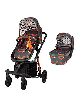 Cosatto Giggle Quad Pram And Pushchair - Charcoal Mister Fox