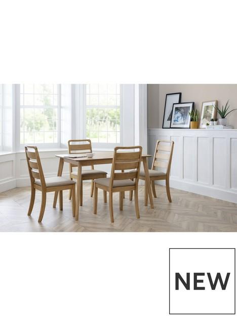 julian-bowen-boden-oak-veneer-rectangular-table-with-tapered-legs