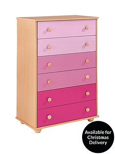 Kidspace Metro Chest of 6 Drawers