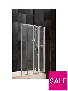 aqualux-4-fold-bath-shower-screen