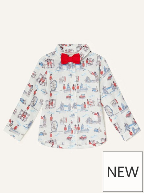 monsoon-boys-guarding-london-shirt-with-bow-tie-ivory