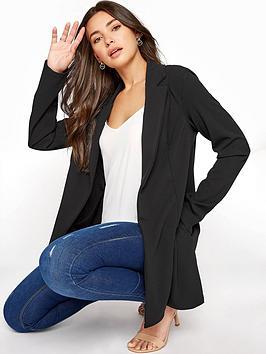long-tall-sally-ponte-blazer-black