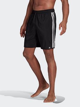 adidas-classic-length-3-stripes-swim-shorts
