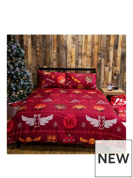 harry-potter-charming-christmas-double-duvet-cover-set