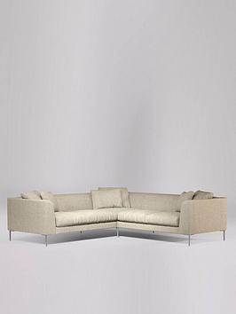 Swoon Alena Fabric 5 Seater Corner Sofa - House Weave