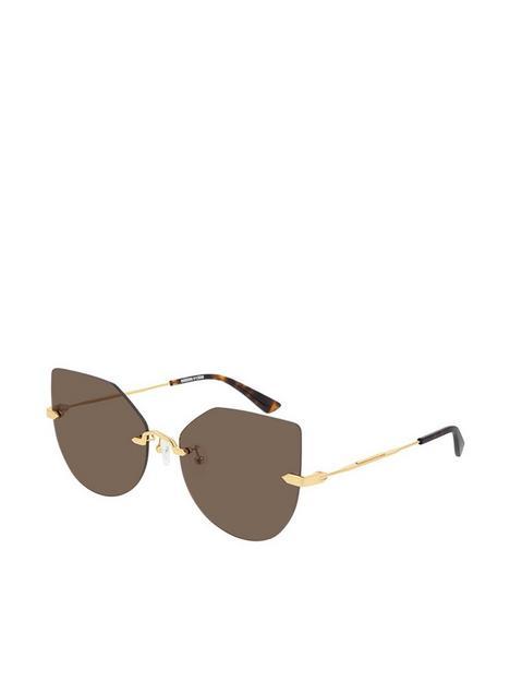 mcq-alexander-mcqueen-cateye-sunglasses-goldbrown