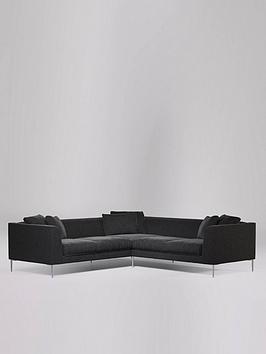 Swoon Alena Fabric 5 Seater Corner Sofa - Smart Wool