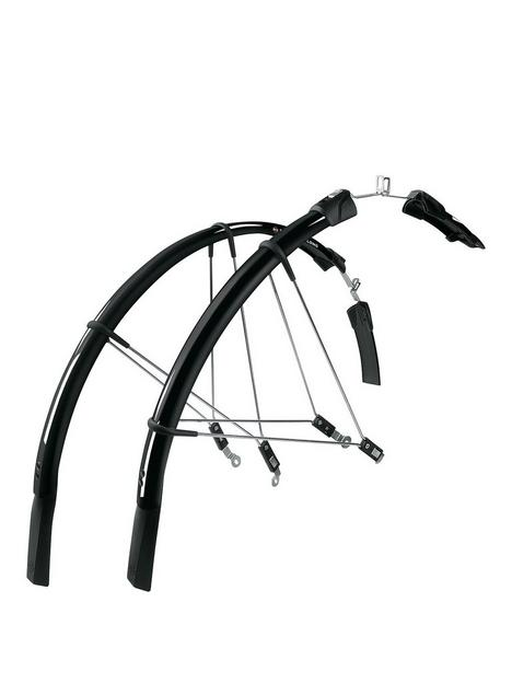 sks-raceblade-long-black-cycling-mudguard-set