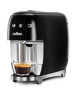 Smeg Smeg & Lavazza A Modo Mio Coffee Machine - Black