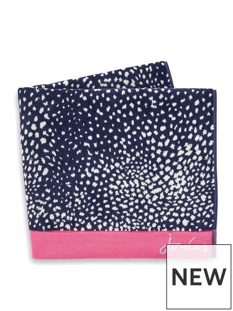 joules-spot-towel-range--nbspnavy