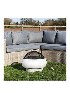Peaktop Peaktop Firepit Wood Burning Fire Pit For Logs Concrete Style