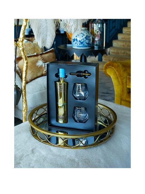 au-vodka-blue-raspberry-70cl-2-glasses-and-speed-pourer-giftset