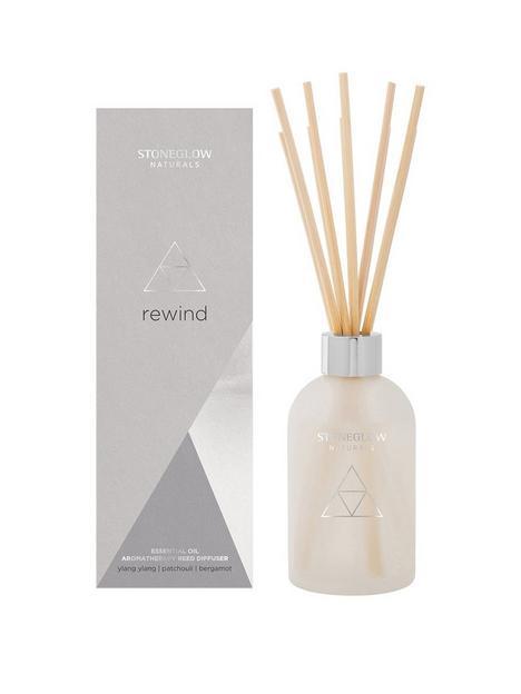 stoneglow-naturals-rewind-ylan-ylang-patchouli-bergamot-reed-diffuser
