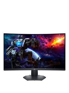dell-s3222dgm-315in-qhd-curved-va-165-hz-amd-freesync-gaming-monitor-3-year-warranty